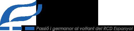 Logo de la Penya Blanc-i-Blava de Blanes