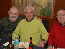Jorge Larena, Andrés Carbonell i Carlos Espada