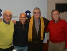 Andrés Carbonell, Javier de Haro, Francesc Lechaire i Carlos Espada