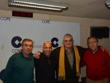 Javier de Haro, Francesc Lechaire, Carlos Espada i Ramón Luis,