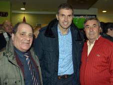 Jaume Sagrera i Ramón Luis amb el President del Girona Delfi Geli